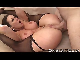 Amazing Kendra Lust fingered in the ass