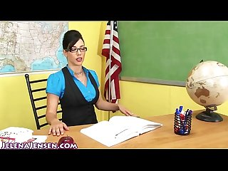 Sexy professor jelena jensen teaches a lesson