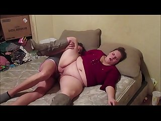 Two hot secretary sucks and fucks each other pussy creampie
