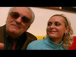 Two young cocks splitting a hot brunette