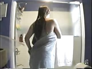 Watch my sister nude in bath room period hidden cam