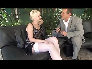 Nora puts her cigar in her hot pussy while the boss's wife is out