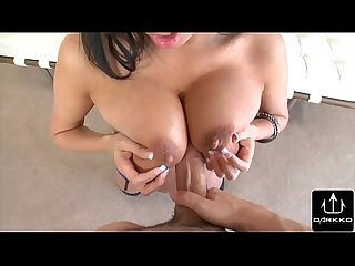 Annissa Kate Shows Off Huge Tits