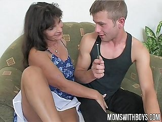 Mature teacher rewards her students with dp anal sex