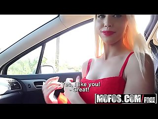 Mofos stranded teens french blonde in red lipstick starring Kimber delice