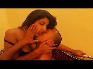 Tipsy indian bgrade girl gets her boobs nicely pressed