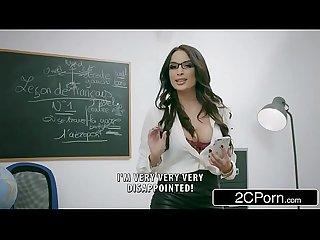 Naughty french teacher anissa kate loves anal