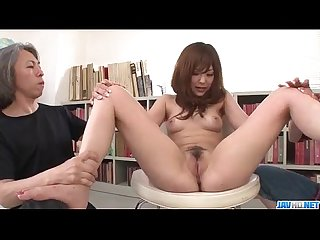 Miku Airi gets to fuck her teacher at class