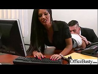 Sex In Office With Round Big Melon Tits Girl (elicia solis) movie-14