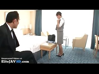 Japanese maid in uniform fucked hard more at elitejavhd com