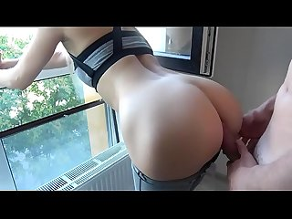 He fucks her hard and cumshots - Badgfs.com