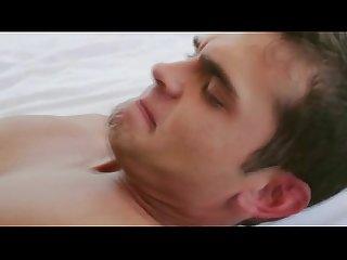 Muscley hot gay hunks make sweet love