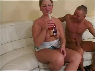 Drinking and Fucking with A mature whore