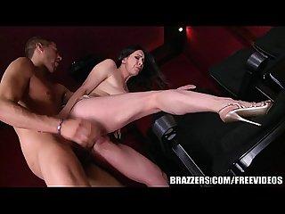 Brazzers dude fucks stepmom in the porn theater