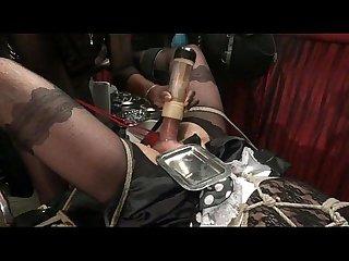 Bondage tease milking pump feminisation mina