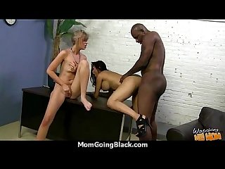 Hot milf gets ripped by a black cock excl 24