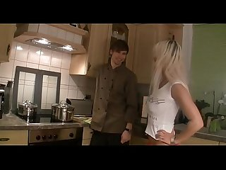 Virgin son fucks A hot Step mom for the first time