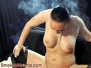 Keira b smoking fetish
