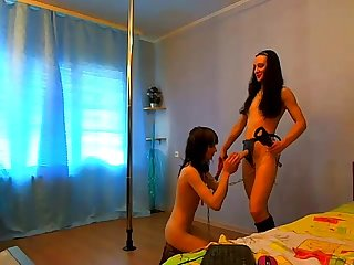 Two sluts on webcam