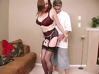 Casualmilfsex com mom cheats with young guy