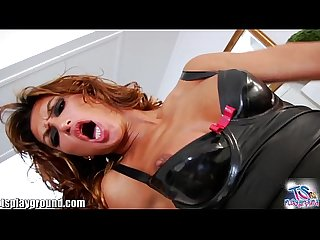 Tsplayground latina monster cock shemale gets fucked