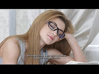 She Is Nerdy - Nerdy Sonya Sweet sex dream teen porn