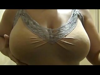 Lactating mom huge boobs