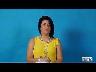 CASTING ALLA ITALIANA - Omar Galanti fucks Romanian babe for her first anal porn