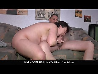 Hausfrau ficken bbw amateur german granny wife enjoys hardcore sex session