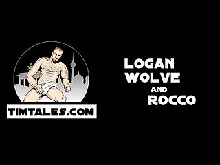 Logan wolve and Rocco