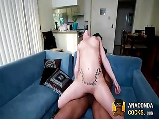 Black Breeding With Elegant Babe And BigBlackCock