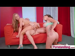 (Nicole Aniston & Peta Jensen) Horny Lovely Pornstar Ride On Cam A Hard Long Cock Stud..