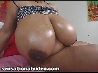 Busty Black BBW Ms Deja