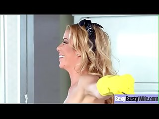 Sex tape with busty naughty housewife Alexis fawx clip 01