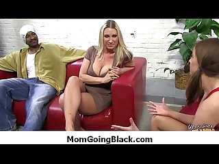 Super interracial sex horny milf fucking black dude 10