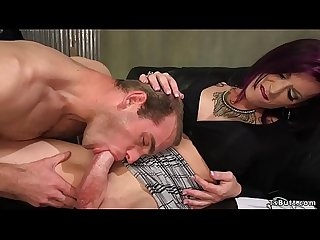 Movie director tranny anal fucks actor