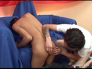 Latin Twinks Juan Carlos and Riky Fucking