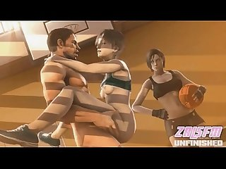 Rebecca chambers fucked like a bitch hentai video