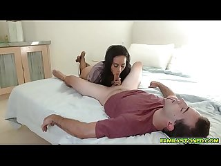 Milf Gia Vendetti getting her aged pussy spreadeagle fuck by her step nephew!