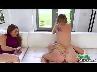 Familystroke net daddy and daughter caught by mom