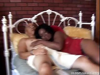 Big beautiful mature black BBW is a very hot fuck