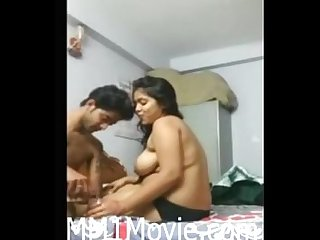 Cute Bangali horny girl hardcore session with Boy friend (MM1Movie.com)
