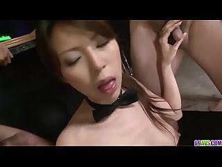 Rino Asuka plays naughty with a group of horny men - More at 69avs.com