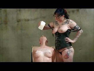 Lesbian birthday spanking