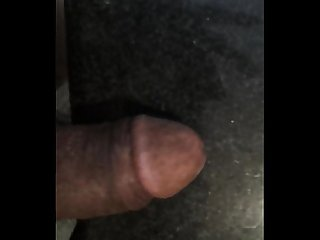 vishwas masturbating his big black penis