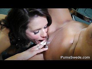 Pussy Pie! Busty Puma Swede & MILF Veronica Avluv