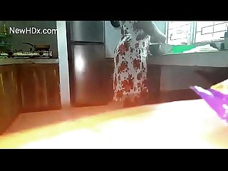 Tamil wife gaand Chudai in kitchen