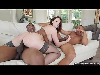 Mom takes Black Cock in both ends
