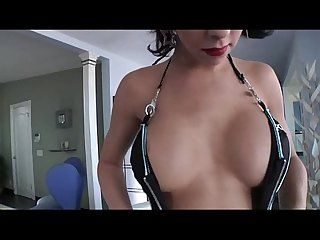 Domme shemale cop danika dreamz punishes stud by banging her tight ass