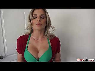 My pervy stepmom sucked my virgin cock